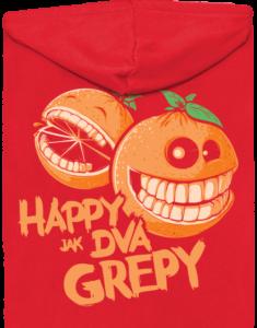 Happy grepy dámská mikina – záda