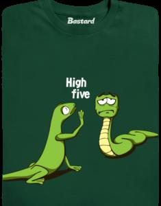 High Five zelené pánské tričko