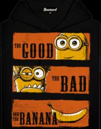 Hodný zlý a banán pánská mikina