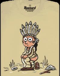Indiánek pánské tričko