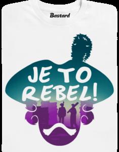 Je to rebel dětské tričko