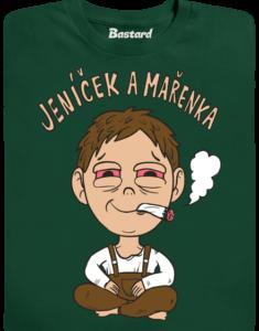 Jeníček a mařenka pánské tričko