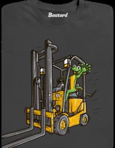 Ještěrka pánské tričko