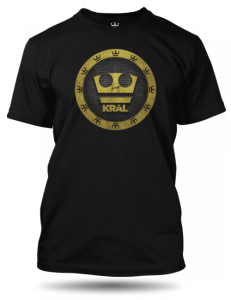 Jirka Král černé tričko pánské velikost L