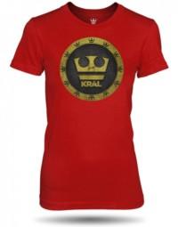 Jirka Král červené tričko dámské velikost M