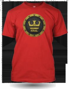 Jirka Král červené tričko pánské velikost L