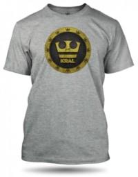 Jirka Král šedé tričko pánské velikost L