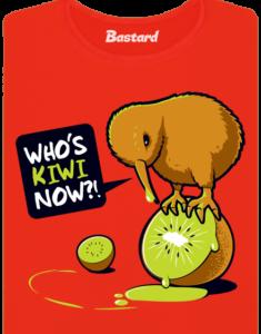 Kiwi červené dámské tričko
