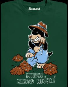 Krtek zahradník pánské tričko