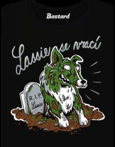 Lassie se vrací dámské tričko