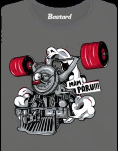 Lokomotiva dámské tričko