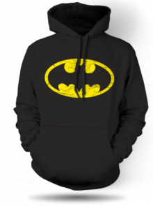 Mikina Batman logo distressed Unisex 1084