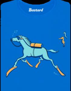 Mořský koník dámské tričko