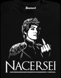 Nacersei černé pánské tričko