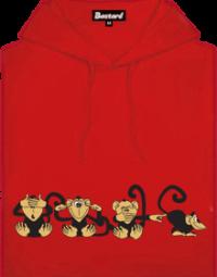 Opice dámská mikina