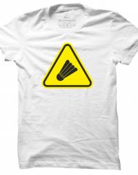 Pánské tričko Badminton Caution