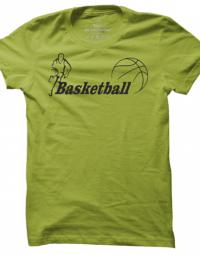 Pánské tričko Basketball Label