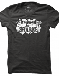 Pánské tričko Beware Of Sharks