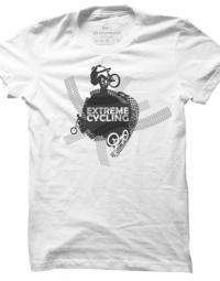 Pánské tričko Extreme cycling