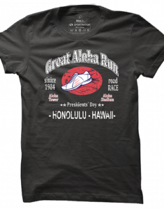 Pánské tričko Great Aloha Run
