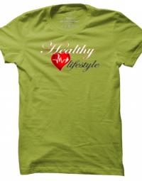 Pánské tričko Healthy Lifestyle