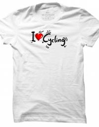 Pánské tričko I Love Cycling