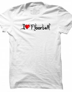 Pánské tričko I Love Floorball