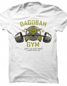 Pánské tričko Lifting Yoda