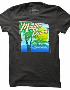 Pánské tričko Malibu Beach