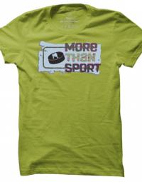 Pánské tričko More than Sport