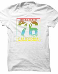 Pánské tričko Ocean Beach California