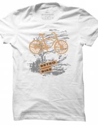 Pánské tričko Retro Bike