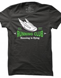Pánské tričko Running Is Flying