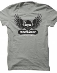 Pánské tričko Snowboarding Freestyle