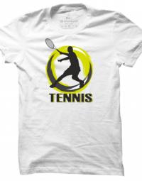 Pánské tričko Tennis Silhouette