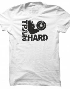 Pánské tričko Train Hard - Arm