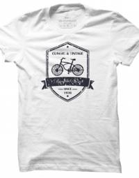 Pánské tričko Vintage Bicycle Store