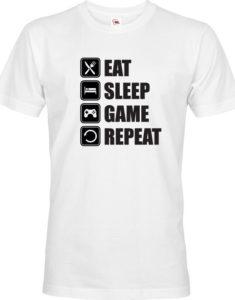 Pánské Geek/hráčské triko EAT