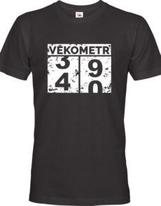 Pánské tričko k narozeninám s rokem narození - originální narozeninový dárek