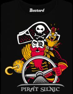 Pirát silnic dámské tričko