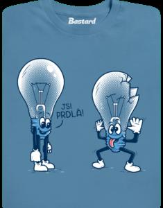 Prdlá modré pánské tričko