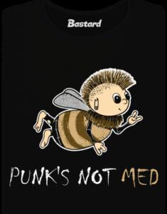 Punk's Not Med dámské tričko