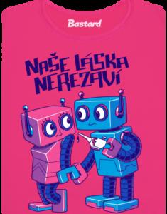 Roboti dámské tričko
