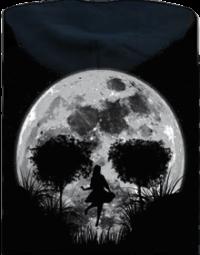 Smrtící úplněk pánská mikina – záda