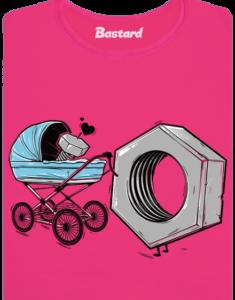 Správná matka růžové dámské BIO tričko