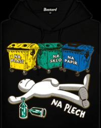 Tříděný odpad pánská mikina