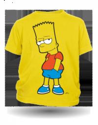 The Simpsons Bart nevinný žluté tričko dětské velikost L