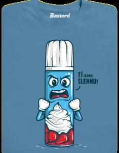 Ti šlehnu modré pánské tričko