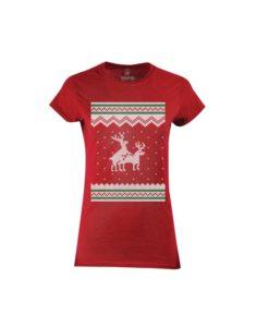 Tričko dámské Red Reindeers Gone Wild