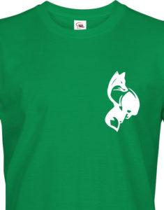 Tričko pro myslivce Liška - decentní motiv na prsou
